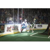 Graeme Hossack of the Rochester Knighthawks