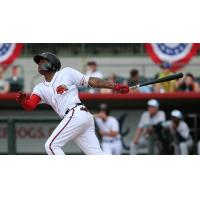OF Cristian Pache with the Florida Fire Frogs