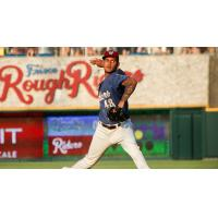 Frisco RoughRiders pitcher Jonathan Hernandez