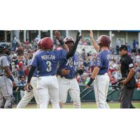 Frisco RoughRiders congratulate Juremi Profar on his grand slam