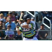 Nick Rodriguez of the Everett AquaSox at bat