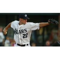 Pitcher Jake Peavy with the Mobile BayBears