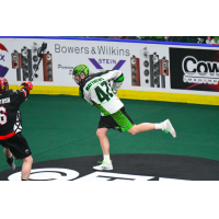 2018 NLL MVP Mark Matthews of the Saskatchewan Rush