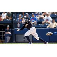 Ronald Torreyes of the Scranton/Wilkes-Barre RailRiders
