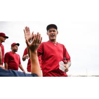 High Fives for the Frisco RoughRiders