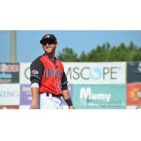 Hickory Crawdads in action