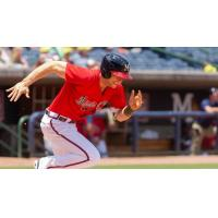 OF Connor Lien of the Mississippi Braves