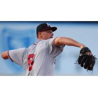 Mississippi Braves pitcher Kyle Muller