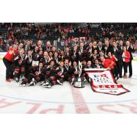 Team Canada celebrates Gold at the Hlinka Gretzky Cup