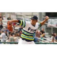 Everett AquaSox pitcher Orlando Razo delivers