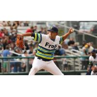 Everett AquaSox pitcher Orlando Razo