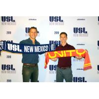 Peter Trevisani, USLNM Owner on left, Troy Lesesne, USLNM Head Coach on right