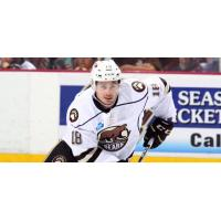 Forward Wayne Simpson with the Hershey Bears