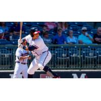 Mississippi Braves catcher Jonathan Morales