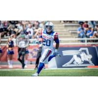 Montreal Alouettes running back Tyrell Sutton