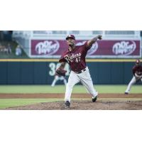 Frisco RoughRiders pitcher Yohander Mendez