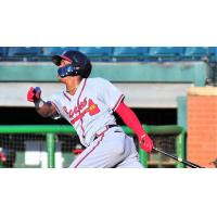 Cristian Pache of the Mississippi Braves