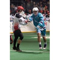 Luke Laszkiewicz of the Rochester Knighthawks