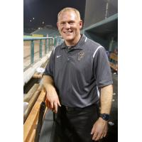 Fresno Grizzlies athletic trainer Lee Meyer