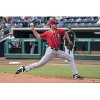 RHP Jordan Romano of the New Hampshire Fisher Cats