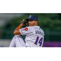 Lakewood BlueClaws pitcher Gustavo Armas