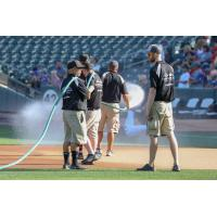 Salt Lake Bees Grounds Crew