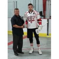 Mark Vradenburg of the Capital Region Axemen awarded as scoring champ