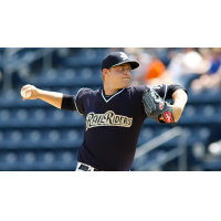 Scranton/Wilkes-Barre RailRiders pitcher Michael King