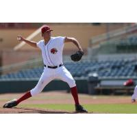 Florida Fire Frogs pitcher Jeremy Walkers