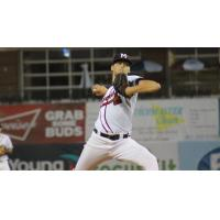 Mississippi Braves pitcher Ian Anderson