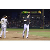 Fresno Grizzlies outfielder Kyle Tucker rounds the bases