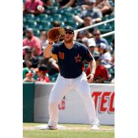 Fresno Grizzlies first baseman A.J. Reed