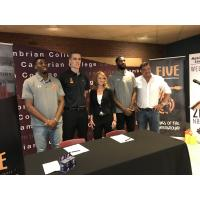 Marcus Lewis and Kadeem Green join the Sudbury FIVE