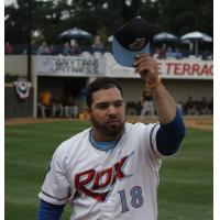 St. Cloud Rox manager Augie Rodriguez tips his cap