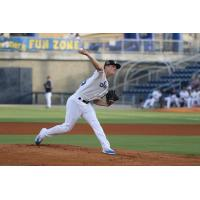 Biloxi Shuckers pitcher Zack Brown
