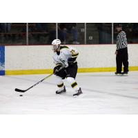 Defenseman Sean Campbell with St. Norbert's College