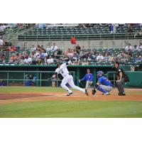 San Antonio Missions shortstop Fernando Tatis Jr. at the plate