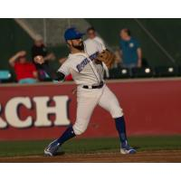 Rylan Sandoval of the Rockland Boulders