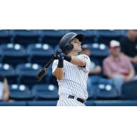 Mark Payton swings away for the Scranton/Wilkes-Barre RailRiders