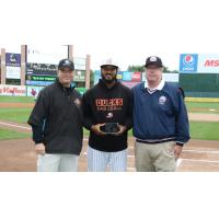 Jordany Valdespin named Team MVP of the Long Island Ducks