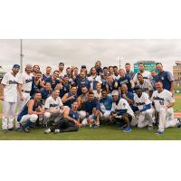 Tulsa Drillers celebrate Texas League Championship Series berth