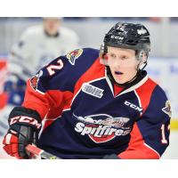 Forward William Sirman with the Windsor Spitfires