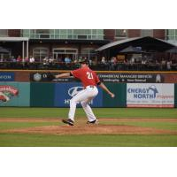 New Hampshire Fisher Cats pitcher Jordan Romano