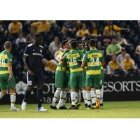 Tampa Bay Rowdies celebrate against Nashville City SC
