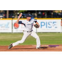 Dustin Demeter with the Victoria HarbourCats