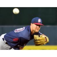 Somerset Patriots pitcher Stephen Perakslis delivers