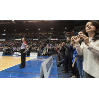 Fans enjoy a Saint John Riptide game