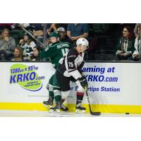 Kaleb Bulych of the Vancouver Giants against the Everett Silvertips