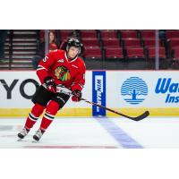 John Ludvig of the Portland Winterhawks