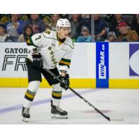 Vladislav Kolyachonok with the London Knights